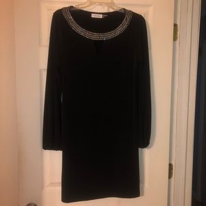 Black Calvin Klein dress. NWOT. Size 8.